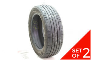 Set Of 2 Used 215 55r17 Kumho Solus Ta31 94v 7 7 5 32