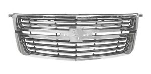 Grille For Chevy Tahoe Suburban 2015 2019 Ltz 23320678 84183302 Gm1200704