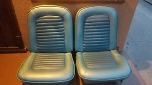 1965 1966 Mustang Coupe Seats Complete Set
