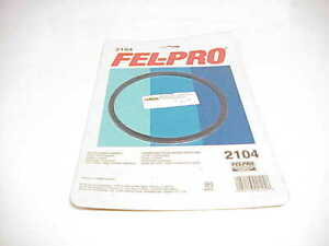 1 New Fel Pro Air Cleaner Gasket 2104 Holley Carter Edelbrock Braswell