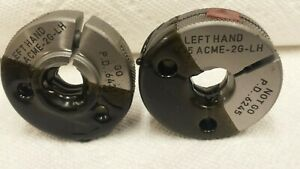 3 4 5 Acme 2g lh Thread Ring Gauge Set