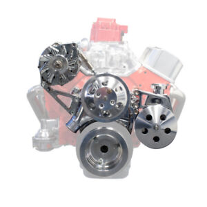 Sbc Chevy Front Engine Kit Complete Set Up 327 305 350 383 400 Ds35012