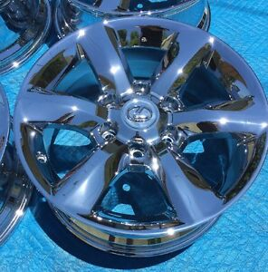 4 New Chrome 18 Lexus Gx460 Gx470 Hl450 Lx450 Oem Factory Wheels Rims H 74229