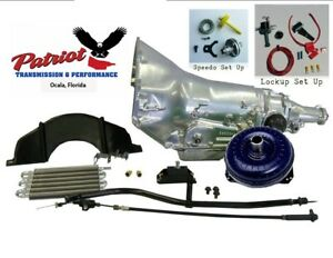 700r4 Stage 3 High Performance Transmission Race Master Conversion Kit W Fluid