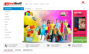 Full Featured Ecommerce Drop Shipping Affiliate Website Free Hosting