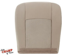 2009 2019 Ford Econoline Cargo Van Driver Side Bottom Cloth Seat Cover Tan