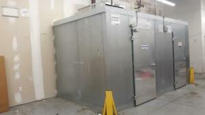 8 X 15 Walk In Cooler Freezer Combination Self Contained Nice National Cooler