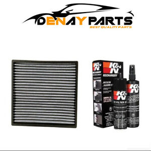 K n Air Filter Vf2001 99 5000 Cleaning Care Service Kit