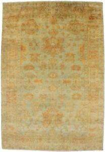 Handmade Floral Design 5 8x8 3 Chobi Indian Area Rug Oriental Home D Cor Carpet
