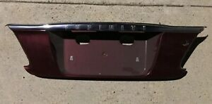 2000 2001 Infiniti I30 Trunk Deck Lid Trim License Plate Finish 84810 3y200 Nice