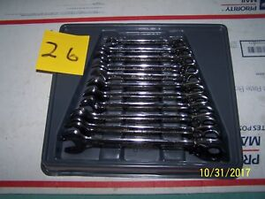 Bluepoint Ratchet Wrenchs 11pc Metric 26