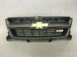 2017 2018 Chevy Chevrolet Colorado Z71 Front Oem Grille 84244052