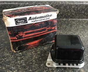 Quality Replacement Parts 12v Alternator Voltage Regulator Nos Nors 1960s Ford