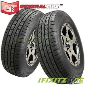 2 X New General Grabber Hts60 Lt265 75r16 123 120r E 10 Owl Tires