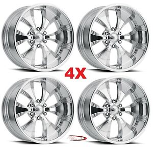 18 Pro Wheels Rims Killer 6 Forged Billet Polished Aluminum Us Specialties Mags