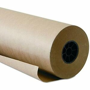Brown Kraft Paper Roll 48 x 1800 150 Feet Long Single 100 Recycled Materials
