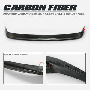 Carbon Fiber Oe Style Rear Spoiler Add On For 14 18 Mazda 3 Mps 3dr 5dr Hatch