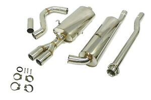 Obx Racing Stainless Steel Cat Back Exhaust Fits 1984 93 Volvo 740 760 940 2 3t