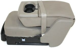 2004 2008ford F150 Center Console Jump Seat W Storage Cup Holder