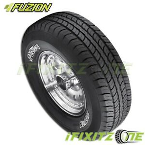 1 Fuzion Suv By Bridgestone 235 70r16 106t Owl All Season Performance Tires