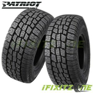 2 X New Patriot At 275 60r20 Xl 119h All Season Tires