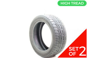 Set Of 2 Used 225 50r17 Goodyear Assurance Tripletred As 94v 8 5 9 5 32