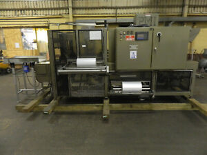Pmi Csi 30 Shrink Wrapper 460v 3 Phase Restored And Ready To Work