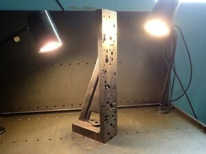 21 3 4 X 8 X 4 Mill Milling Set up Fixture Right Angle Plate Used Good Cond
