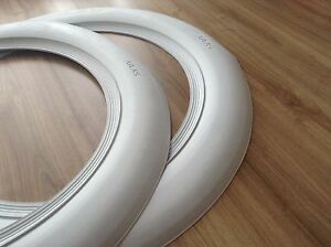 Spare White Wall Portawall Fakewall Topper 15 X3 Wide Tire Insert Trim 2 Pcs