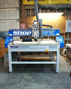 Cnc Machine Shopsabre cutting Area Is 50x57 Inches win Cnc And V carve