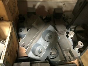 Vertical Turret Lathe Boring Mill Jaws Set Of 4 Base Is 8 3 4 X 9 1 2
