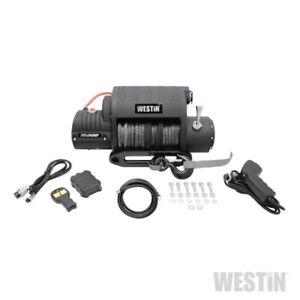 Westin Off Road 10000lbs Integrated Winch W Synthetic Rope 47 2200