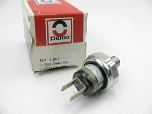 New Acdelco 8648065 Governor Pressure Switch 80 86 Gm Th250c Th350c 50 Psi