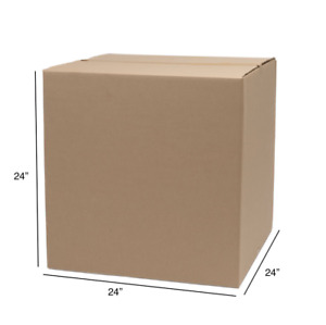 10 Box 24x24x24 Corrugated Shipping Packing Moving Boxes Atlanta Pick Up Only