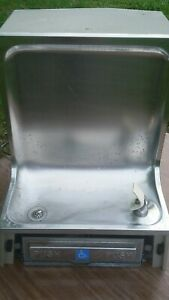 Elkay Ehfa 8 1 Wall Mount Water Cooler Drinking Fountain Stainless Steel Aqua Cs