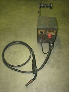 Lincoln Electric Ln 7 Wire Feeder Welder With Weld Gun For Mig Welding
