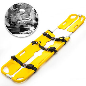 Scoop Stretcher Emt Backboard Spine Board Stretcher Medical Emergency Stretcher