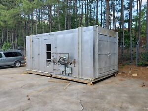Industrial Oven Cure Oven With Complete Valve Train And Burner