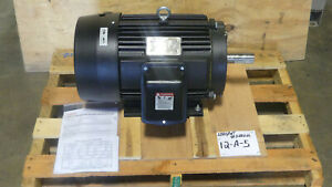 New Toshiba Low Voltage Electric Motor 15 Hp 460v 1770 Rpm 254t Frame 3 Phase