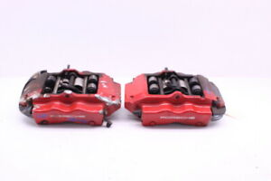2008 2009 2010 Porsche Cayenne Gts Rear Brake Caliper Set Brembo Has Scratches