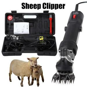 320w Sheep Shearing Goat Clippers Animal Livestock Shave Grooming Farm Supplies