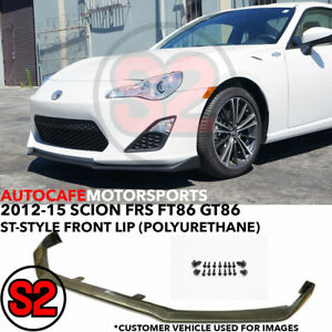 St style Front Lip urethane For 2012 2016 Scion Fr s