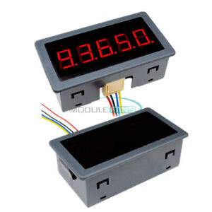 Red Led 0 56 Digital Counter Meter Count Timer Timing Three Function Dc12v 24v