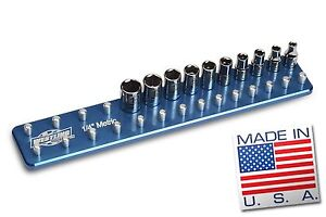 1 4 Metric Billet Socket Organizer Tool Holder Tray