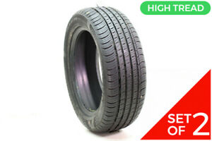 Set Of 2 Driven Once 215 55r17 Kumho Solus Ta71 94v 11 32