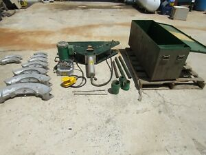 Greenlee 884 885 1 1 4 To 5 Electric Hydraulic Pipe Bender we Ship Freight