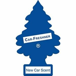 Little Trees Car Home Office Hanging Air Freshener New Car Scent 1 Pack