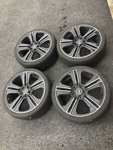 2013 2014 Ford Mustang Gt Oem 19x8 5 Black 5 Split Spoke Wheels Wheel Set 4 19