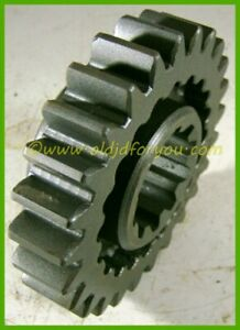 F2368r John Deere 70 Sliding Gear Shaft Drive Pinion 25 Teeth Clean Usa