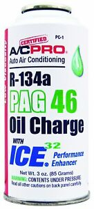 Interdynamics A C Pro R134a Pag46 Oil Charge With Ice 32 3 Oz Pc 1